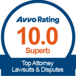 Avvo 10 Star Badge
